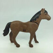 Playmobil cheval classique marron