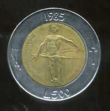 SAN MARIN  ITALY   500 lire 1985  ( bis )