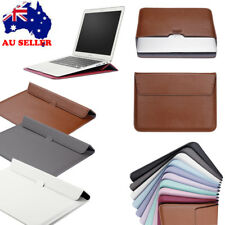 """PU Leather Envelop Laptop Carry Bag Sleeve Case For Macbook Air Retina 11""""12""""13"""
