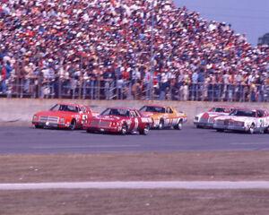 1977 Daytona 500 AJ FOYT, DONNIE ALLISON & CALE YARBOROUGH Glossy 8x10 Photo