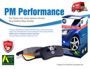 For HYUNDAI Lantra 91-00 FRONT REAR Disc Performance Brake Pads DB1167 DB1166