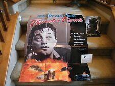 Robert Mitchum- Thunder Road Poster/Autographs (2)