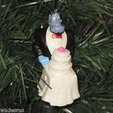 Aladdin Maître D GENIE w/Wedding Cake - Custom Christmas Tree Ornament Holiday