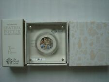 50p Silver Proof Coin Tom Kitten Beatrix Potter 2017 UK Royal Mint No. 21946