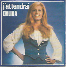 "DALIDA - J'attendrai  - 7"" Single - Sonopress - IS 20534 - Chanson - Pop - FR"