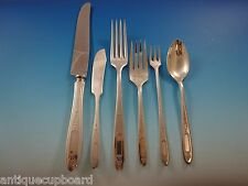 Grosvenor by Community Plate Silverplate Flatware Set Service 12 Dinner 80 Pcs