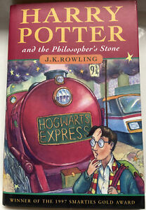 Harry Potter the Philosopher's Stone 1st Edition 5th Print With Errors Very Good