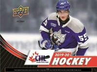 2019-20 UD CHL Upper Deck Hockey Singles (#1-250) Pick Your Cards/Lot/Finish Set