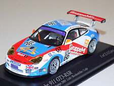 1/43 Minichamps Porsche 911 GT3 RSR car #66 24 Hours Spa 2005 GT2 Class Winners