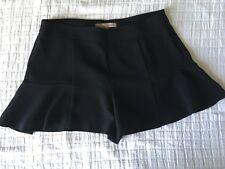 FOREVER 21 Short Évasé Façon Mini Jupe Noir Taille M 38 Excellent État