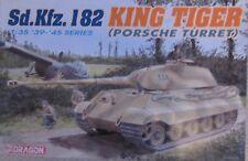 Dragon 1/35 Escala Kit 6189 Tigre Rey Sd.Kfz.182 (Porsche Torreta)