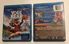 Yogi Bear Blu-Ray DVD Combo 2-Disc (2011) New Sealed Justin Timberlake Aykroyd