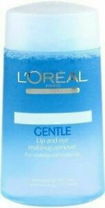 125 ml  L'Oreal Paris Women's Dermo-Expertise Gentle Lip and Eye Make-up Remover