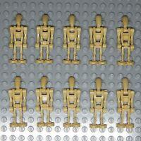 LEGO Star Wars Battle Droid Minifigures Lot of 10