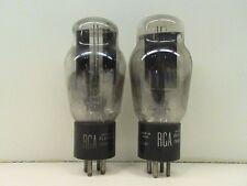 Lot of (2) RCA TYPE 83 RECTIFIER RADIO AMPLIFIER VACUUM TUBES