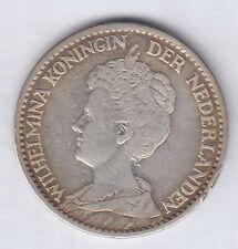 Niederlande 1 Gulden Münze 1915, Netherland Coin
