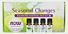 NOW Foods SEASONAL CHANGES 4 Essential Oils Aromatherapy Kit ALLERGY RELIEF