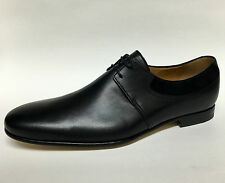 88cba97c3f0 GUCCI 368445 Betis Glamour Queen Lace Up Leather Black Dress Shoes  895