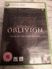 Elder Scrolls IV Oblivion Game of the year edition Xbox 360-Free p&p