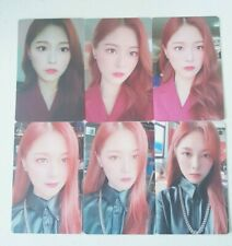"""MONTHLY GIRL LOONA HyunJin 6 Photocard SET - Official MD Showcase of LOONA """"#"""""""
