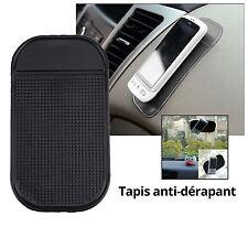 Voiture Tapis support antidérapant tableau de bord pour Smartphone GPS clés noir