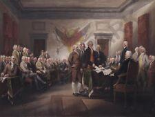 Trumbull le 4TH juillet 1776 déclaration d'indépendance poster art print HP3486