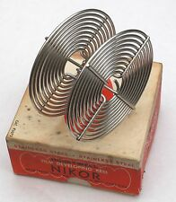 Vintage Honeywell Nikor stainless steel film developing reel