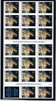 us scott #3112 sa 32c xf mnhog Madonna & child sheet of (20) stamps 1996