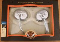 Harley original Bar & Shield Billet  Style Spiegel  Mirrors Kit