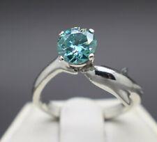 1.00 to 1.35cts Tahitian Greenish Blue Diamond Dolphin Ring & $900 Value +