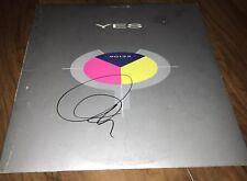 Yes X2 Signed Autographed 90125 Lp W/ Exact Proof Entertainment Memorabilia