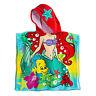 NWT DISNEY STORE Ariel Beach Bath Towel Hooded poncho The Little Mermaid Princes