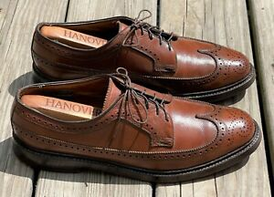 VINTAGE | FLORSHEIM IMPERIAL KENMOOR 93602 9D LONGWING BLUCHER GUNBOAT SHOES