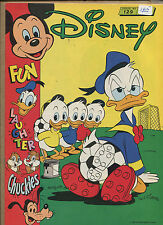DISNEY #129 MAG 1988 (B) - DONALD'S SOCCER PAINT COVER - (Grade VF+) WH