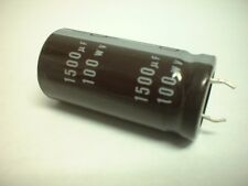 Nichicon 1500uf 100v 105 degree Snap Mount Electrolytic Capacitor 22mm x 45mm