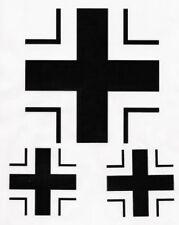 Luftwaffe Iron Cross Sticker Set for VW Beetle Camper Bus Hot Rod Rat Rod Euro