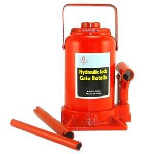 2 New 4 Ton Hydraulic Bottle Jacks Mechanic Shop Tools