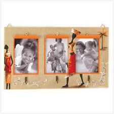 Tribal Wall Photo Frame, holds 3 - 4x6 photos