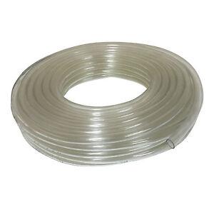 Clear PVC Tubing Flexible Plastic Hose Pipe for Fish Tank, Aquarium, Ponds, Car