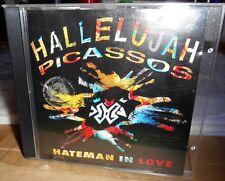 "Rare OOP Hallelujah Picassos ""Hateman In Love"" 16-track NZ Dub Pop Hip-Hop CD"