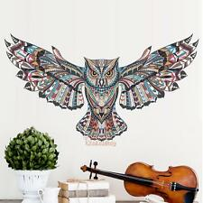 Creative Owl Living Room Bedroom Background Wall Sticker Home Decal Mural Decor