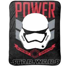 Star Wars Ep7 Rule Galaxy Fleece Throw Star Wars Galaxy First Order Blanket NEW