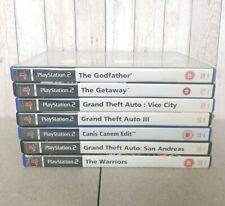 Rockstar / Adult Bundle (PS2 PlayStation 2) Shooters GTA Games Grand Theft Auto