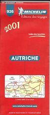Michelin Map of Austria, Map # 926 (International Edition)