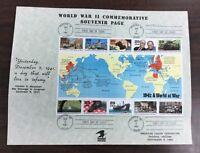 2559  World War II  American Legion FDC  PHX  Arizona Sep 3, 1991