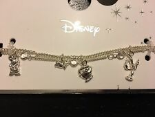 Primark Disney Beauty And The Beast Charm Bracelet