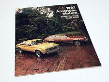 1982 American Motors AMC Spirit Concord Eagle 4-WD Brochure USA