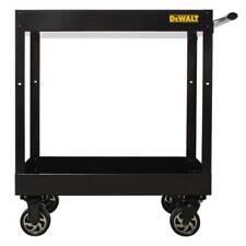 DeWALT DWMT78086 Black Heavy Duty Steel Ergonomic Basic Utility Storage Cart