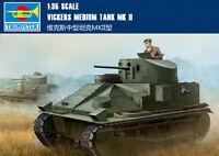 Hobby Boss #83879 1/35 Vickers Medium Tank Mk.II