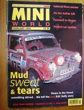 RARE VERY COLLECTABLE MINI WORLD MAGAZINE  FEBRUARY 1995 IN VERY GOOD CONDITION